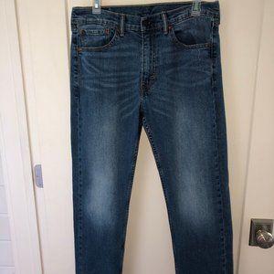 Levi's 505 regular fit stretch straight leg jeans